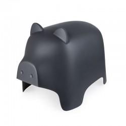 Piggy Sgabello grigio scuro