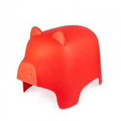 Piggy Sgabello rosso